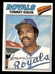 1977 Topps #362  Tommy Davis  Front Thumbnail