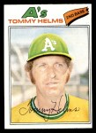 1977 Topps #402  Tommy Helms  Front Thumbnail
