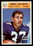 1966 Philadelphia #4  Perry Lee Dunn  Front Thumbnail