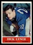 1964 Philadelphia #121  Dick Lynch   Front Thumbnail
