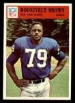 1966 Philadelphia #119  Roosevelt Brown  Front Thumbnail