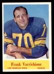 1964 Philadelphia #95  Frank Varrichione   Front Thumbnail