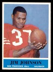 1964 Philadelphia #161  Jimmy Johnson  Front Thumbnail