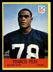 1967 Philadelphia #117  Francis Peay  Front Thumbnail