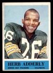 1964 Philadelphia #71  Herb Adderley   Front Thumbnail