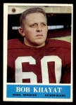 1964 Philadelphia #187  Bob Khayat  Front Thumbnail
