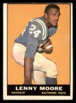 1961 Topps #2  Lenny Moore  Front Thumbnail