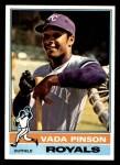 1976 Topps #415  Vada Pinson  Front Thumbnail