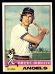 1976 Topps #637  Bruce Bochte  Front Thumbnail