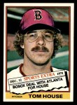 1976 Topps Traded #231 T Tom House  Front Thumbnail