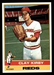 1976 Topps #579  Clay Kirby  Front Thumbnail
