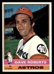 1976 Topps #649  Dave Roberts  Front Thumbnail