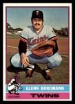 1976 Topps #498  Glenn Borgmann  Front Thumbnail