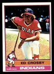 1976 Topps #457  Ed Crosby  Front Thumbnail
