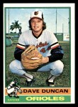 1976 Topps #49  Dave Duncan  Front Thumbnail