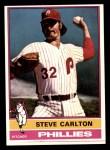 1976 Topps #355  Steve Carlton  Front Thumbnail