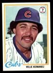 1978 Topps #99  Willie Hernandez  Front Thumbnail