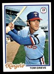 1978 Topps #337  Tom Grieve  Front Thumbnail