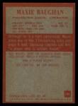 1965 Philadelphia #129  Maxie Baughan   Back Thumbnail