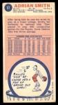 1969 Topps #97  Adrian Smith  Back Thumbnail