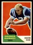 1960 Fleer #12  George Shirkey  Front Thumbnail