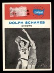 1961 Fleer #63   -  Dolph Schayes In Action Front Thumbnail