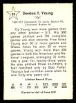 1961 Golden Press #33  Cy Young     Back Thumbnail