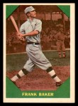 1960 Fleer #41  Home Run Baker  Front Thumbnail
