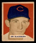 1949 Bowman #160  Jim Blackburn  Front Thumbnail