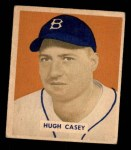 1949 Bowman #179  Hugh Casey  Front Thumbnail