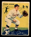 1934 World Wide Gum #66  Frank Hogan  Front Thumbnail