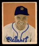 1949 Bowman #75  Eddie Mayo  Front Thumbnail