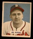 1949 Bowman #235  Jim Russell  Front Thumbnail