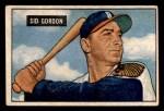 1951 Bowman #19  Sid Gordon  Front Thumbnail
