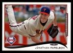 2014 Topps #122  Jonathan Papelbon  Front Thumbnail