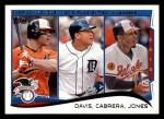 2014 Topps #153   -  Chris Davis / Miguel Cabrera / Adam Jones 2013 AL RBI Leaders Front Thumbnail
