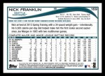 2014 Topps #169   -  Nick Franklin Future Stars Back Thumbnail
