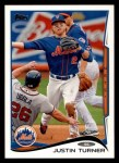 2014 Topps #187  Justin Turner  Front Thumbnail