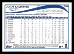 2014 Topps #304  Juan Lagares  Back Thumbnail