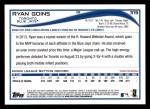 2014 Topps #319  Ryan Goins  Back Thumbnail