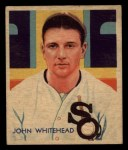1935 Diamond Stars #51  Burgess Whitehead  Front Thumbnail