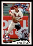 2014 Topps #502  Chase Utley  Front Thumbnail