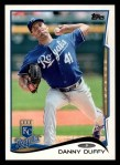 2014 Topps #532  Danny Duffy  Front Thumbnail