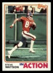 1982 Topps #91   -  Steve Watson In Action Front Thumbnail