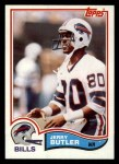 1982 Topps #24  Jerry Butler  Front Thumbnail