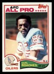1982 Topps #104  Carl Roaches  Front Thumbnail