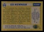 1982 Topps #134  Ed Newman  Back Thumbnail