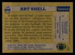 1982 Topps #198  Art Shell  Back Thumbnail