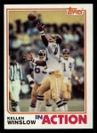 1982 Topps #242   -  Kellen Winslow In Action Front Thumbnail