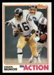 1982 Topps #237   -  Chuck Muncie In Action Front Thumbnail